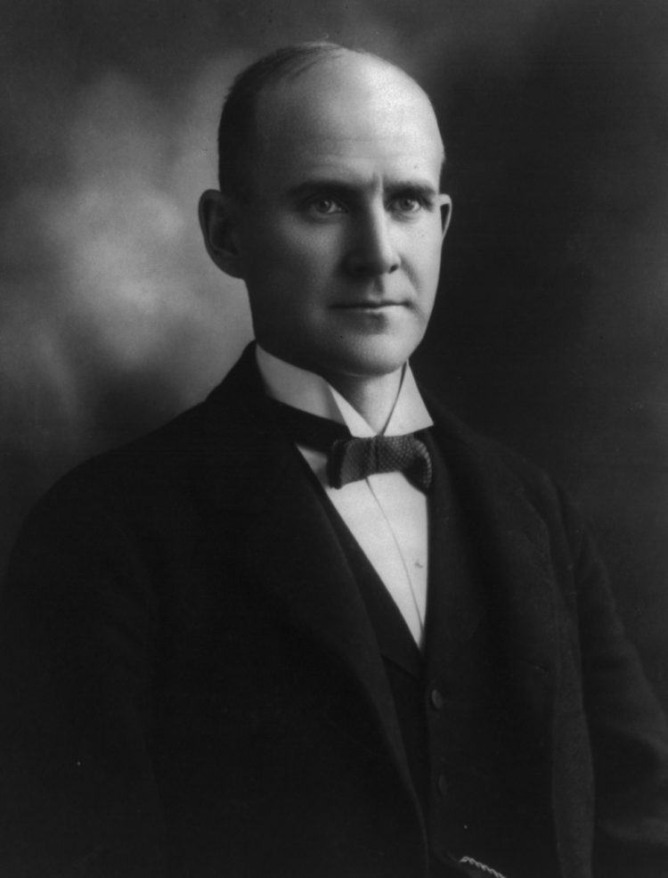 Eugene Debs image courtesy Library of Congress