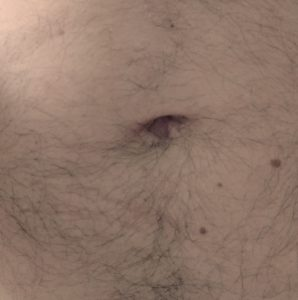 Yes, this is my navel.